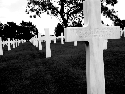 American cemetery in Normandy, France | June 18, 2006 | Karen Petree