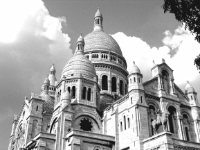 Sacré Cœur, Paris, France | July 28, 2006 | Photo by Karen Petree