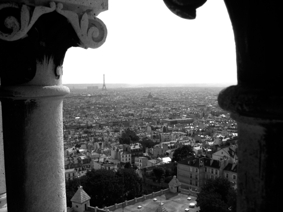 View of Paris | July 28, 2006 | Photo by Karen Petree